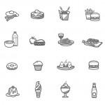 細かな描写が特徴 食べ物をテーマにしたアイコンセット「Foody Icons」