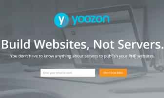サーバーなしでウェブサイトを構築、運営できる「Yoozon」ステージング環境にも最適