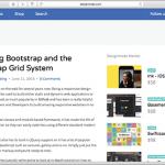 Bootstrap 3でレスポンシブ対応のwebページをつくろう!グリッドシステムの基本な使い方