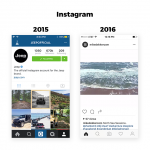 InstagramやAirbnbなどのUIデザインに見る新しいトレンド