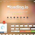 CSSやSVG、GIF等でローディングアイコンを作成出来る・「loading.io」