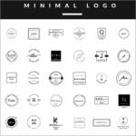 フォントも全部無料!名刺やブログにぴったりなかわいいロゴが作成できる素材セット -Feminine Logo Templates
