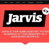 管理画面内で記事やカテゴリなどのタクソノミー等をインクリメンタル検索するWordPressプラグイン・「Jarvis」