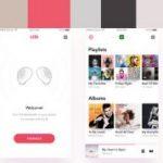 モバイル表示を意識した8つの「最新カラースキーム」。モバイルページの配色にお困りのデザイナーに!