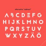 スタイリッシュかつ汎用性の高いフリーフォント「20 Free Fonts With Special Characters」