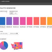 グラフでデータ系列を色分けする時の配色を生成する「Data Color Picker」