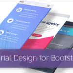 商用利用無料!Material Designが簡単に実装できる、Bootstrap 4をベースにした新作テンプレートのまとめ