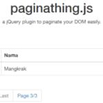 JSベースで簡単ページネーション「paginathing」