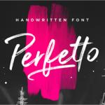 ロゴやポスターを作るのにぴったり!ブラシの質感溢れるかっこいい手書きフォントが期間限定で無料 -Perfetto