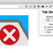 Chromeのタブを開きすぎてしまう人のための拡張機能「xTab」