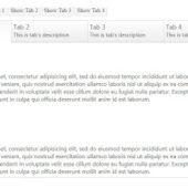タブ付ページをデザインする!無料のUIプラグイン6選とデザインのインスピレーション厳選集