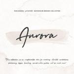 テクスチャーやイラスト制作に最適な水彩ブラシセット「Aurora Watercolor Brushes」