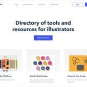 イラストレーター向けのツール等を紹介する・「illustration.tools」