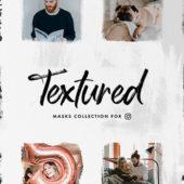 より魅力的な1枚を投稿したい方におすすめ Instagramマスクセット「Textura Instagram Masks Set」