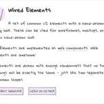 手書き風のUIコンポーネントを提供するライブラリ・「Wired Elements」