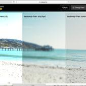 [CSS]たった一行でガラス板の美しいエフェクトが実装できる、backdrop-filterプロパティの使い方を解説