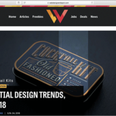 Web制作者がチェックしておきたい、最近のWebサイトで見かけるデザインのアイデア -2018年5,6月