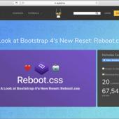 2018年おすすめのCSSリセット!「Reboot.css」の特徴と使い方を解説