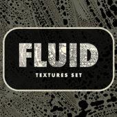 水滴を弾いたような模様が個性的な一風変わったアナログテクスチャーセット「Fluid Textures Set」