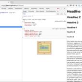 [CSS]見出しや本文のfont-sizeとline-heightの単位にremを使用して、レスポンシブ対応にするスタイルシート