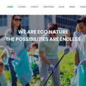 【エコなイメージ】自然・環境系WordPressテーマ25選!【コーディング不要】