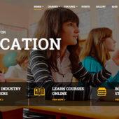 幼稚園、学校、eラーニング・・・ 便利で簡単に教育関連のサイトを作れるWordPressテーマ10選!【オンラインコースの販売にも】