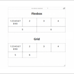 CSS Gridが適しているレイアウト、Flexboxが適してるレイアウトを詳しく解説