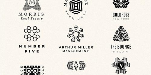 全部、無料フォント!曼荼羅(まんだら)デザインのロゴを簡単に作成できるフリーのベクター素材キット