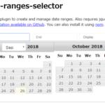 何日から何日迄の入力に便利な「date-ranges-selector」