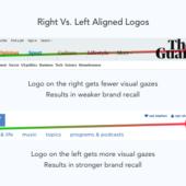 ブランドをもっとも印象づけるロゴの配置はどこか?