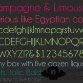 美しく繊細な雰囲気が特徴の細字フリーフォントまとめ「35 Beautiful and Free Thin Fonts」
