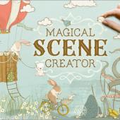 わずか数クリックで、かわいい素敵なイラストを作成できる魔法みたいなデザイン素材 -Magical Scene Creator