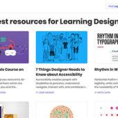 さまざまなカテゴリからデザインを学べるギャラリーサイト「Learn Design」