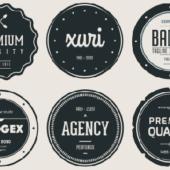 ロゴやラベルに!無料で使えるビンテージデザインのヒップスター調バッジ&フォント20選