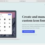 これなら簡単!SVG対応、アイコンを組み合わせてWebフォントのセットを作成できる無料ツール -Webfont