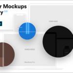 商用でも完全無料!Webサイトやスマホアプリをプレゼンで魅せるためのベクター素材 -Vector Mockups Library
