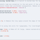 CSSリセットにも新しい動きが!最近の実装に合わせて、見直すきかっけになる新しいCSSのリセット -CSS Remedy