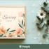 コリス限定で全員にプレゼント!春のデザインにぴったりな草花をあしらったベクター素材 -Spring Floral Designs