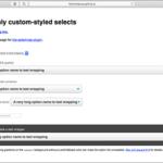 [CSS]フォームのselect要素の特徴を把握し、各ブラウザで一貫して美しく実装するスタイルシート -select-css