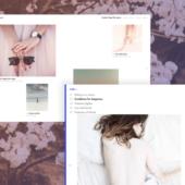 シャレオツなページめくり効果のデモ「Page Flip Layout」