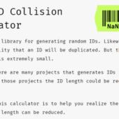 JSでUUIDみたいなユニークなIDを生成する「Nano ID」