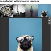 シンプルなグリッドベースのギャラリー実装jQuery「sampGallery」
