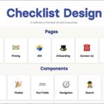 WebサイトやスマホアプリのUIデザインに必要な要素・あると便利な要素がまとめられたリスト -Checklist Design