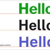 米国の政府関連サイトのデザイン指針として誕生した、UIデザインに最適化されたフリーフォント -Public Sans