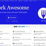 Font Awesomeから派生したオープンソースのアイコンプロジェクト・「Fork Awesome」
