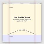 [CSS] 両端に余白があるコンテナをページの中央に配置する古い実装方法と最近の実装方法