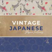 商用利用無料!日本の美しい柄がデザインされた紙のテクスチャ素材 -Vintage Japanese Paper Textures