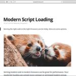 JavaScriptのモダンなコードとレガシーなコードを適切なブラウザに提供する方法