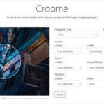 円型での切り取りも可能な画像クロップライブラリ・「Cropme」