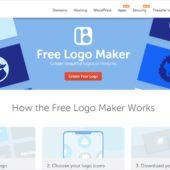 ユーザー登録不要、クレジット不要、完全無料でロゴを作成、ダウンロードして商用利用もできるロゴ作成Webアプリ・「Namecheap Logo Maker」